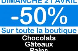 -50% SUR TOUTE LA BOUTIQUE !!!