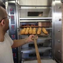 Nouveau four à la boulangerie Ferry