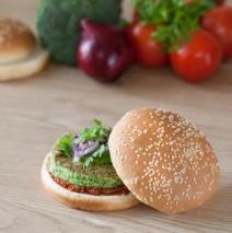 Burger veggie de brocolis