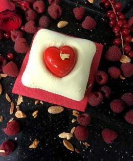 Saint Valentin… Le gâteau de l'Amour !