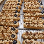 Coulis passion / Crème praliné
