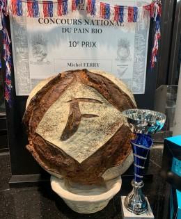 Meilleur pain bio de France 10ème place !